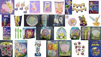 Tinkerbell Party Supplies and Gifts-You choose-Plates-Cups-Napkins-Invites-Table](Tinkerbell Party Invitations)