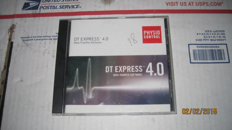 Physio Control   DT Express 4.0  with programm key 5A