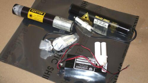 MELLES GRIOT HeNe Laser 05-LHP-214  + JDS UNIPHASE 103-1250 Power FREE SHIP (A4)