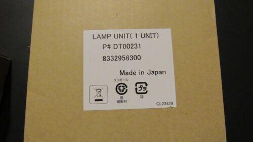 New Original DT00231 Lamp Unit