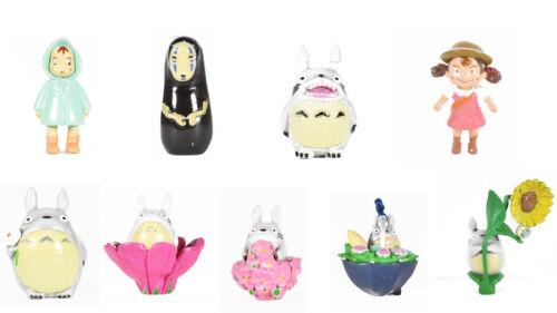 Cute  9pcs/set All Anime MOVIE My Neighbor TOTORO & Spirited Away Toy  PVC Gift