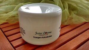 Orangen Kokosbutter 250ml Jester Lorena biologische Creme