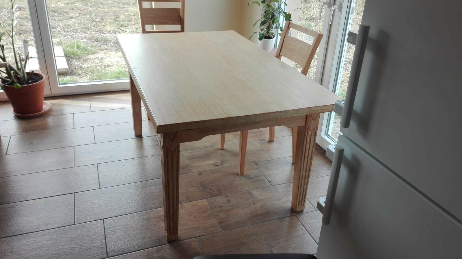 Massiv Holztisch ausziehbar
