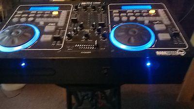 Dual CD player mixer