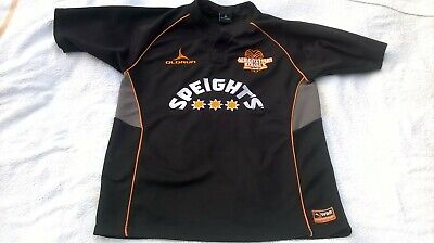 MENS VINTAGE QUEENSTOWN KNIGHTS NEW ZEALAND WORLD BEACH RUGBY UNION SHIRT SIZE M