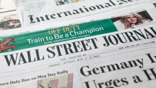 Wall Street Journal  1-YEAR Paper Print & Digital Subscription iOS/Android/PC