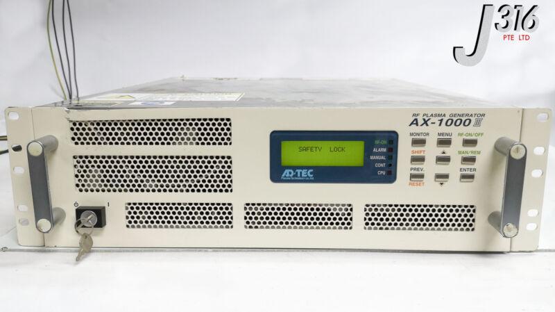 19109 Adtec Rf Plasma Generator, 1000w (13.56mhz) Ax-1000iii