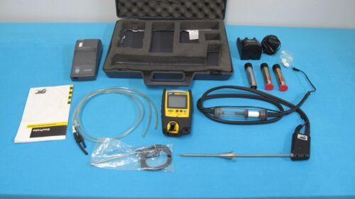 BW Technologies GasProbe Flue Gas Analyzer Portable Multi Gas Detection System