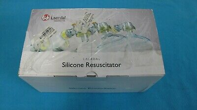 Laerdal Silicone Resuscitator 87005133 Lsr Adult Complete In Carton New