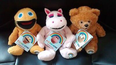 Rainbow Bean Toys Zippy Bungle and George