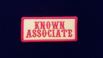 Known Associate Red   White Patch  1 Er