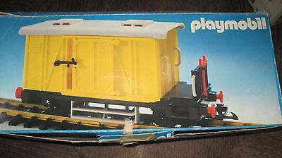 Playmobil LGB 4102 - gelber Güterwagen Waggon - OVP - komplett!!!!