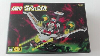 LEGO 6836 SPACE UFO V WING FIGHTER - 100% COMPLETE CLASSIC SET 1997 (See items)