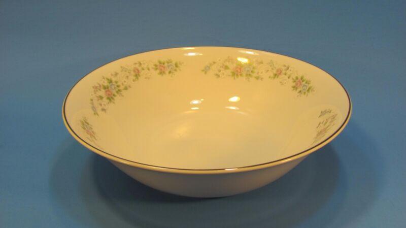 "Carlton Fine China "" CORSAGE"" #481 Round Serving Veggie Bowl 9 1/4"" from JAPAN"