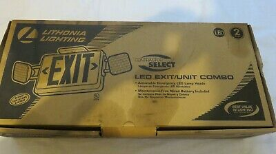 Exit Unit Combo Signled Lithonia Contractor Select