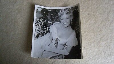 1957 vintage Sally Mansfield photo date stamped on back Death Valley episode