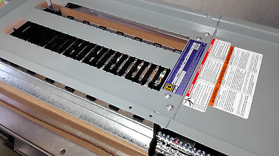 New Square D Nq442l4 Nq Panelboard Interior 400a 3ph 4 Wire 42cct Aluminum