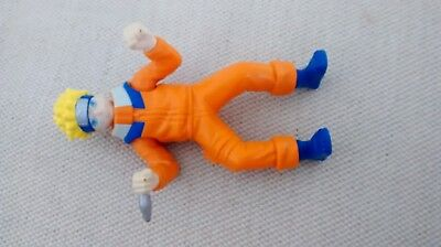 Naruto figurine (with moving arms; 2002) (height: 10 cm)