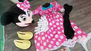 Minnie mouse mascot costume Mindarie Wanneroo Area Preview