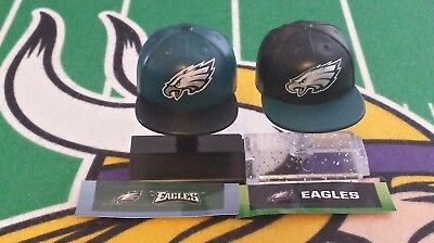NFL Mad Lids Series 1&2 Philadelphia Eagles 2-pack (2 mini caps/stands/stickers)
