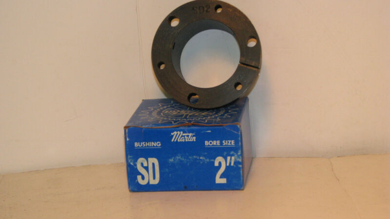 "MARTIN SD-2 2"" BORE QUICK DISCONNECT BUSHING,  *NEW*"