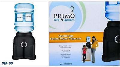 Desktop Water Dispenser 5 Gallon Countertop Cooler Hot And Cold Table Top Black