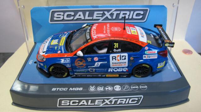 Scalextric   MG6  #31  BTCC     Ref. C3736 NEU