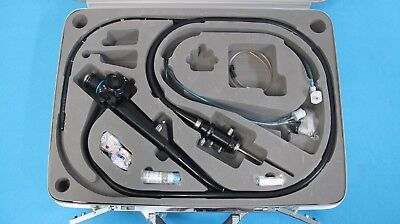 Olympus Tjf-10 Video Duodenoscope Fiber Optic Endoscope With Access. Case