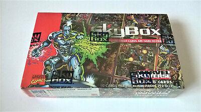 1993 SkyBox Marvel Universe Series 4 Trading Card Box NISB