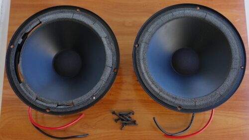 "Pair of 8"" Woofers for Snell Type K/III Speakers - Need Refoaming"