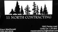11 North contracting