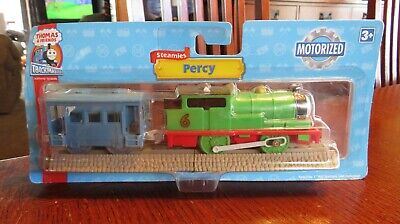 NEW 2007 Thomas & Friends Trackmaster Motorized Railway Train Engine PERCY, CAR