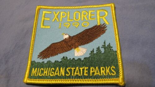 MICHIGAN STATE PARKS PATCH  1990 EXPLORER