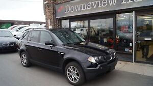 2006 BMW X3 xDRIVE!LOADED!FULLY CERTIFIED@NO EXTRA CHARGE!