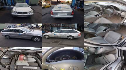 MERCEDES-BENZ C200 KOMPRESSOR STATION WAGON S1 DISMANTLING(00-04) Girraween Parramatta Area Preview