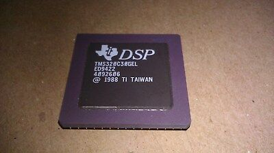 Texas Instruments Ti Dsp Tms320c30gel Ed9422 4092606 1988 Cpu Processor