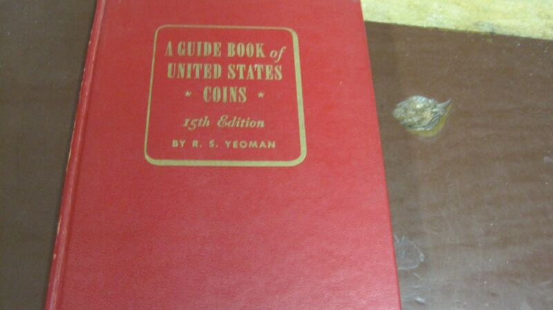 R S YEOMAN RED BOOK COINS 15th EDITION 1962 HC