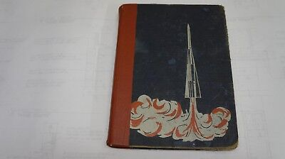 Rockets  Missiles  And Moons Vtg 1957 Education Resource Hb Ex Library Coombs