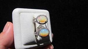 Quality Natural Ethiopian Opal 925 sterling Silver Huggie Earring Padbury Joondalup Area Preview