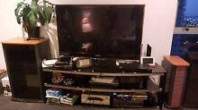 TV,DVD,BOSE SPEAKER,STEREO CABINET,TV STAND BLACK GLASS Southport Gold Coast City Preview