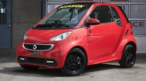 2015 Smart fortwo Passion Sieges chauff.+ Toit Pano+Mags Noirs
