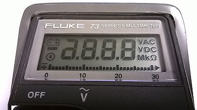Fluke 73 Display Repair Kit And Step By Step Photo Instructions
