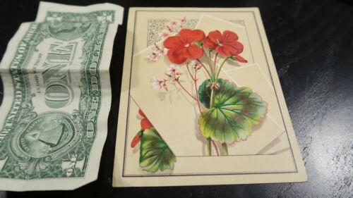 Victorian Trade Card Willett