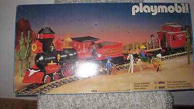 Playmobil LGB 4034 Western  STEAMING MARY Pacific Railroad OVP -Rarität