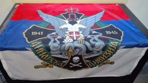 Dinara Chetnik Divison 1941-1945 FLAG