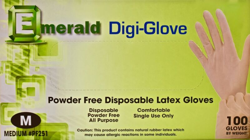 ALL PURPOSE GLOVES - MEDIUM SIZE - (100/PACK) **COMFORTABLE WEAR **