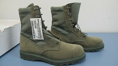 Thorogood Military Sage Green Hot Weather Steel Toe Boots Men's Size 14.5 NEW Hot Weather Sage Green