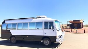 Nissan civilian motorhome spare bus