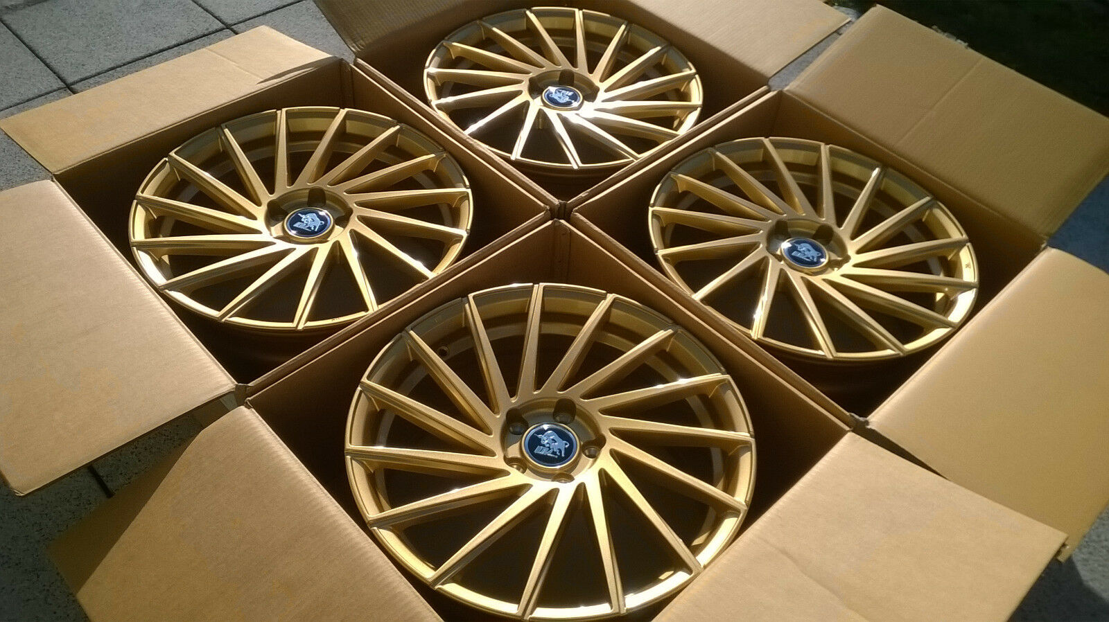 alufelge ultra wheels storm ua9 8 5x19 et45 gold. Black Bedroom Furniture Sets. Home Design Ideas