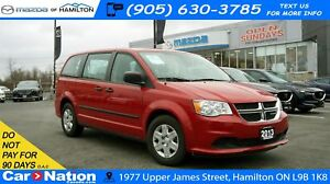 2013 Dodge Grand Caravan SE| 7 SEATS | DUAL SLIDING DOORS | CRUI
